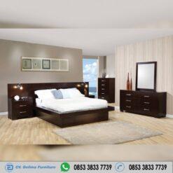 Set Tempat Tidur Jepara Kayu Jati