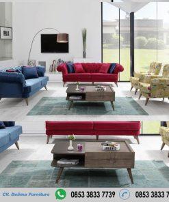 Kursi Tamu Minimalis Sofa Full Cover
