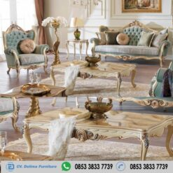 Kursi Tamu Ukir Klasik Qatar Mewah