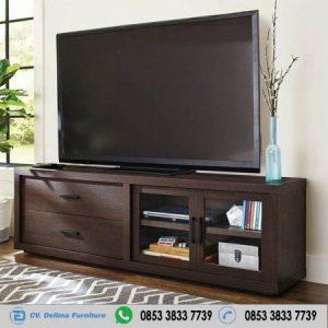 Bufet Tv Jati Model Minimalis Salak