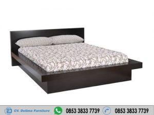 Tempat Tidur Pendek Minimalis Warna Hitam