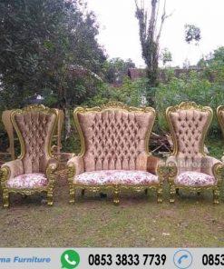 Kursi Manten Wedding Syahrini Semi Sabby