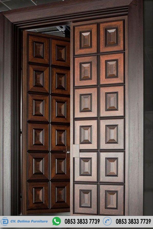 Pintu Rumah Model Minimalis Kayu Jati Terbaru Toko Furniture